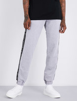 Marcelo Burlon County of Milan Logo-print cotton-jersey jogging bottoms