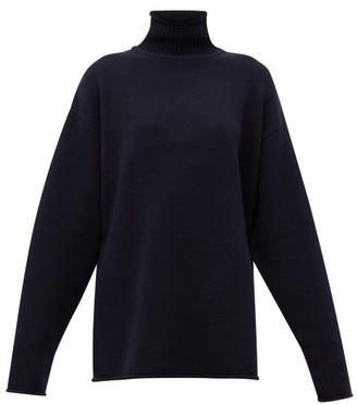 Extreme Cashmere - No.100 Hippy Stretch-cashmere Sweater - Navy