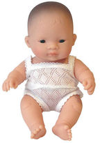 Miniland NEW Asian Girl Baby Doll