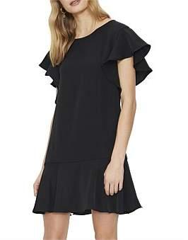 Cooper St Sienna Frill Sleeve Dress
