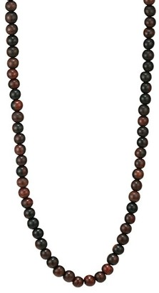 Maria Canale Voyager 18K Yellow Gold & Wood Bead Long Necklace