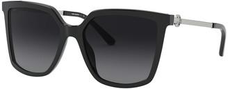Tory Burch Square Acetate Sunglasses