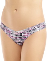 Commando Printed Classic Thong