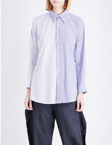 Limi Feu Oversized cotton-poplin shirt