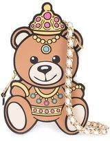 Moschino crowned teddy bear shoulder bag