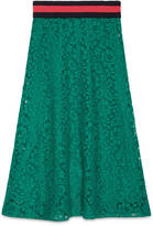 Gucci Cluny lace skirt