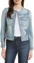 Rebecca Taylor Women's Star Patch Denim Jacket