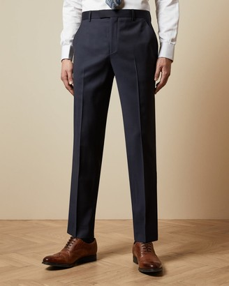 Ted Baker Pashion Check Wool Suit Trousers