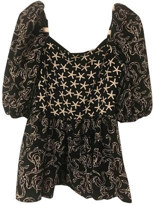 Stine Goya Black Polyester Tops