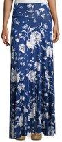 Rachel Pally Long Full Convertible Skirt, Seaside Peony Print