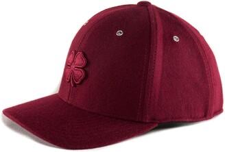 Black Clover Melton Cabernet Baseball Cap