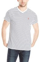 U.S. Polo Assn. Men's Thin Stripe V-Neck T-Shirt