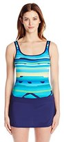 Jag Women's Life In Flight Skirted One Piece Swimsuit