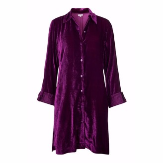 At Last... Amanda Silk Velvet - Fuchsia