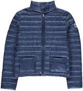 JOTT Sonia High Neck Buttoned Pocket Light Jacket