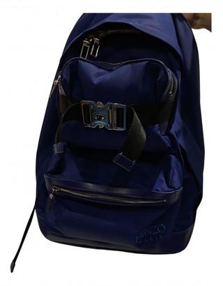Kenzo Blue Cloth Bags