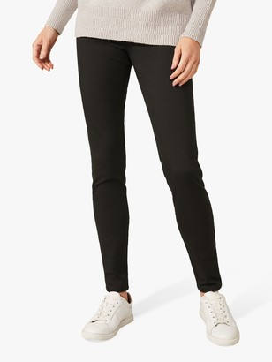 Phase Eight Amina Zip Jeggings, Forest Green