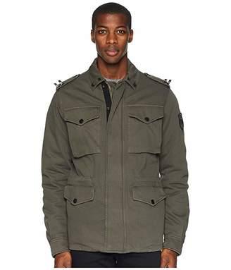 Versace Military Jacket (Thyme) Men's Coat