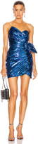 Dundas Sequin Mini Dress in Blue | FWRD