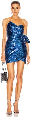 Dundas Sequin Mini Dress in Blue   FWRD
