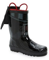 Western Chief Boy's 'Star Wars(TM) - Darth Vader' Waterproof Rain Boot