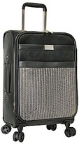 """Vince Camuto Emilie Chevron Calf Hair 20"""" Expandable Carry-On Spinner"""
