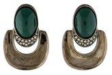 Oscar de la Renta Doorknocker Earrings