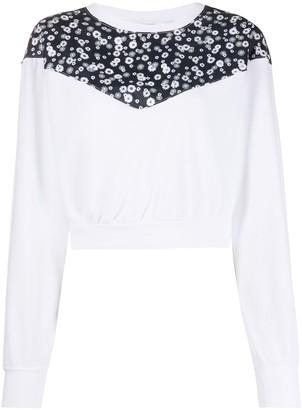 Nike Floral Crew Neck Sweatshirt