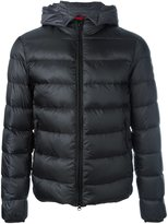 Fay padded high neck jacket