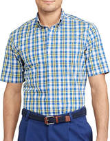 Chaps Short-Sleeve Stretch Cotton Sport Shirt