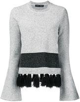 Proenza Schouler tassel detail jumper - women - Cotton/Nylon/Polyester/Viscose - M