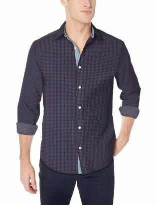 Nautica Men's Classic Fit Floral Print Button Down Shirt