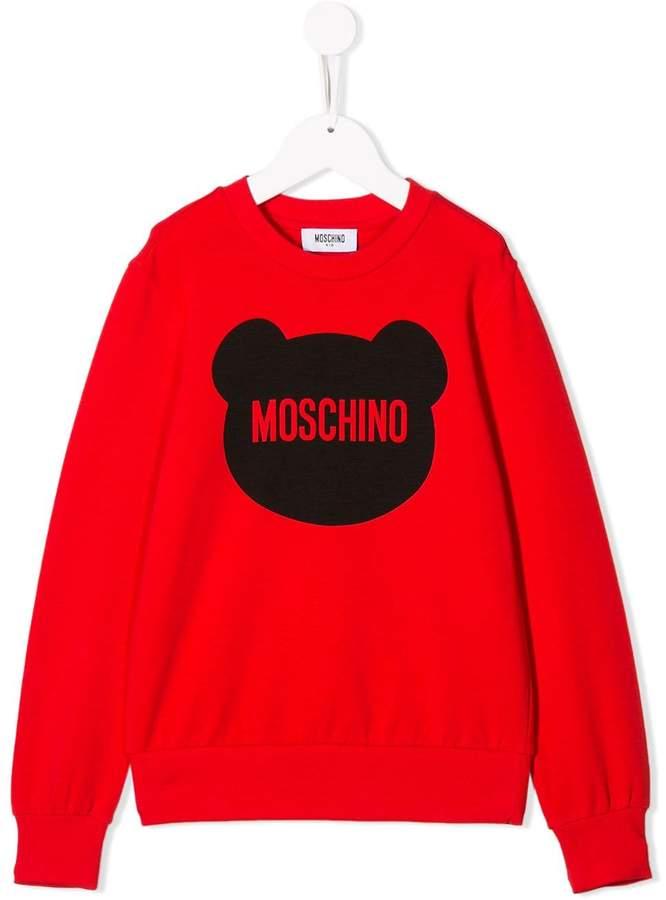 80df1e1f605e6 Moschino Boys' Sweatshirts - ShopStyle