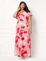 New York & Co. Eva Mendes Collection - Allison Wrap Dress - Floral - Plus