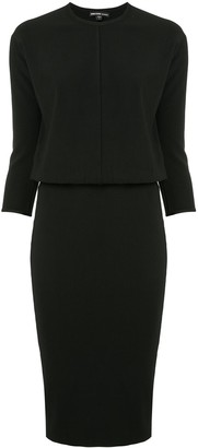James Perse Midi Blouson Dress