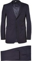 Burberry Navy Slim-Fit Wool Suit