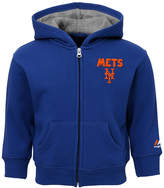 Majestic New York Mets Inside-the-Park Full-Zip Hoodie, Baby Boys (12-24 months)
