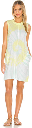 ATM Anthony Thomas Melillo Classic Jersey Sleeveless Tie Dye Dress