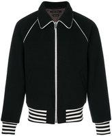 Marc Jacobs bomber jacket - men - Viscose/Virgin Wool - 48