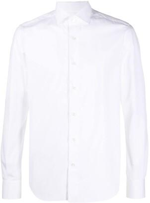 Xacus Long Sleeve Slim-Fit Shirt
