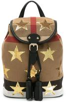 Burberry mini embellished star backpack
