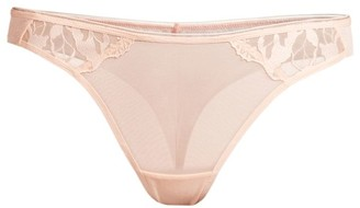 Maison Lejaby Sin Sheer Lace Tanga Brief