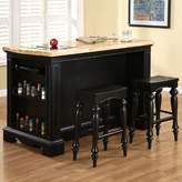 Darby Home Co Burkhart Kitchen Island Set Darby Home Co