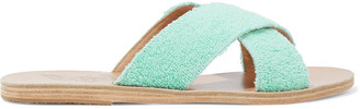 Ancient Greek Sandals Thais Terry Slides