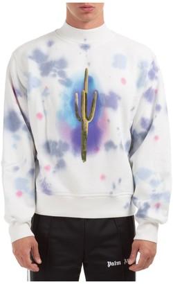 Palm Angels Tie Dye Cactus Sweatshirt
