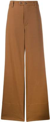 Brunello Cucinelli wide panelled chino trousers