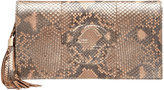 Gucci Soho Python Clutch Bag, Pearl Golden Pink