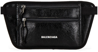 Balenciaga Weekend Belt Wallet in Black   FWRD