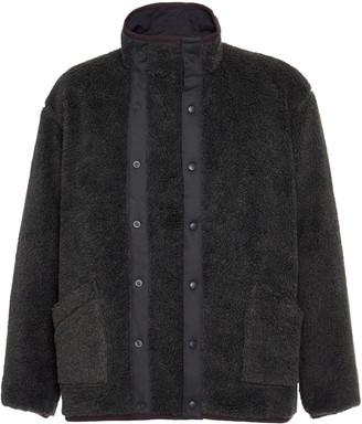 Chimala Snap-Collar Fleece Jacket