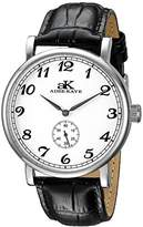 Adee Kaye Men's AK9061N-M/SV Vintage Mechanical Analog Display Mechanical Hand Wind Black Watch